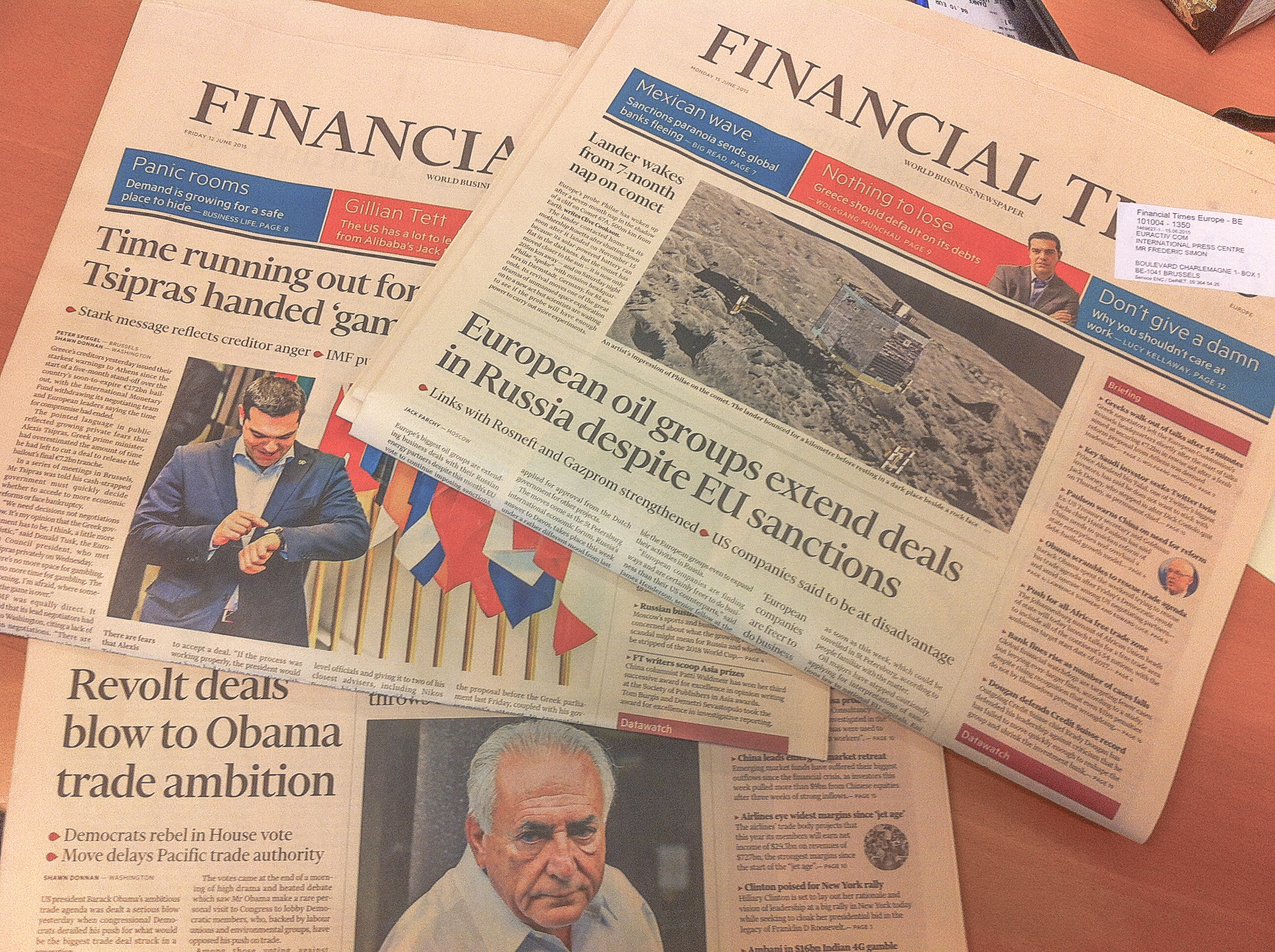 Japanese media group Nikkei buys the Financial Times – EURACTIV com