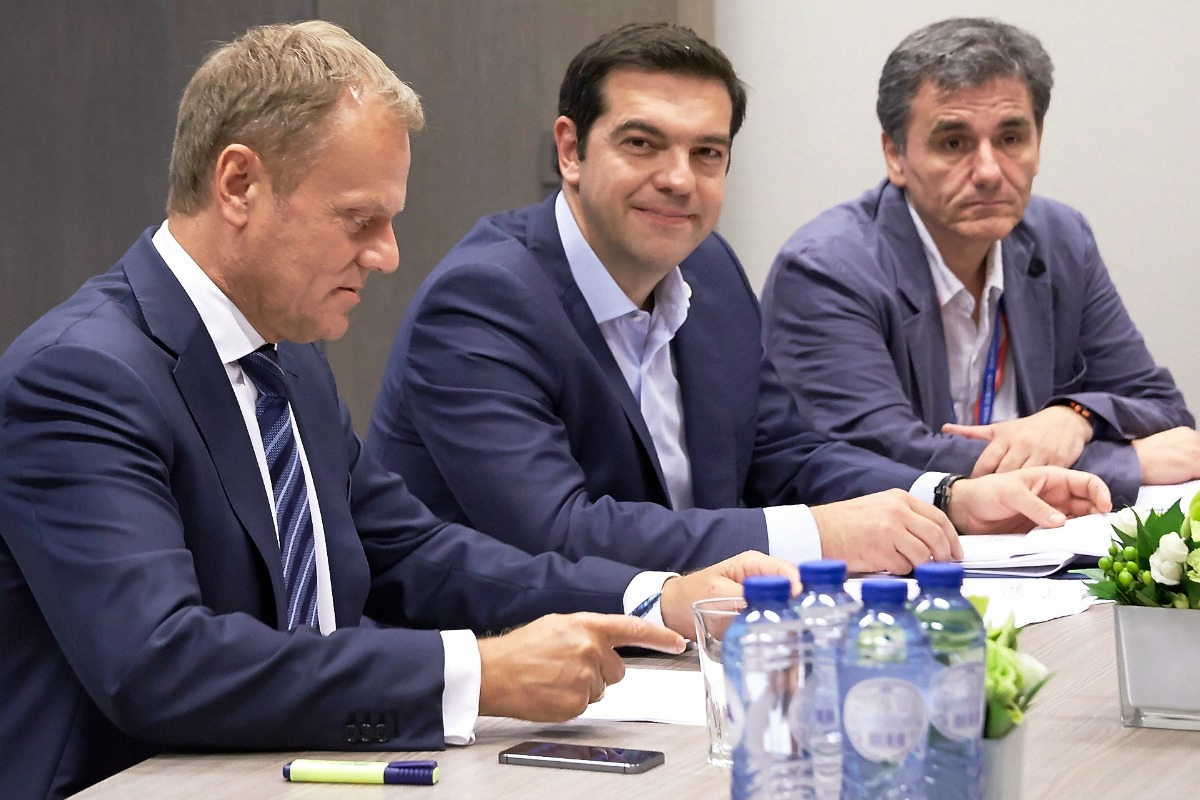 Tusk, Tsipras and Tsakalotos
