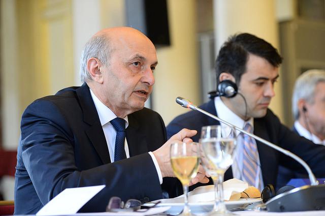 Kosovo's Prime Minister Isa Mustafa