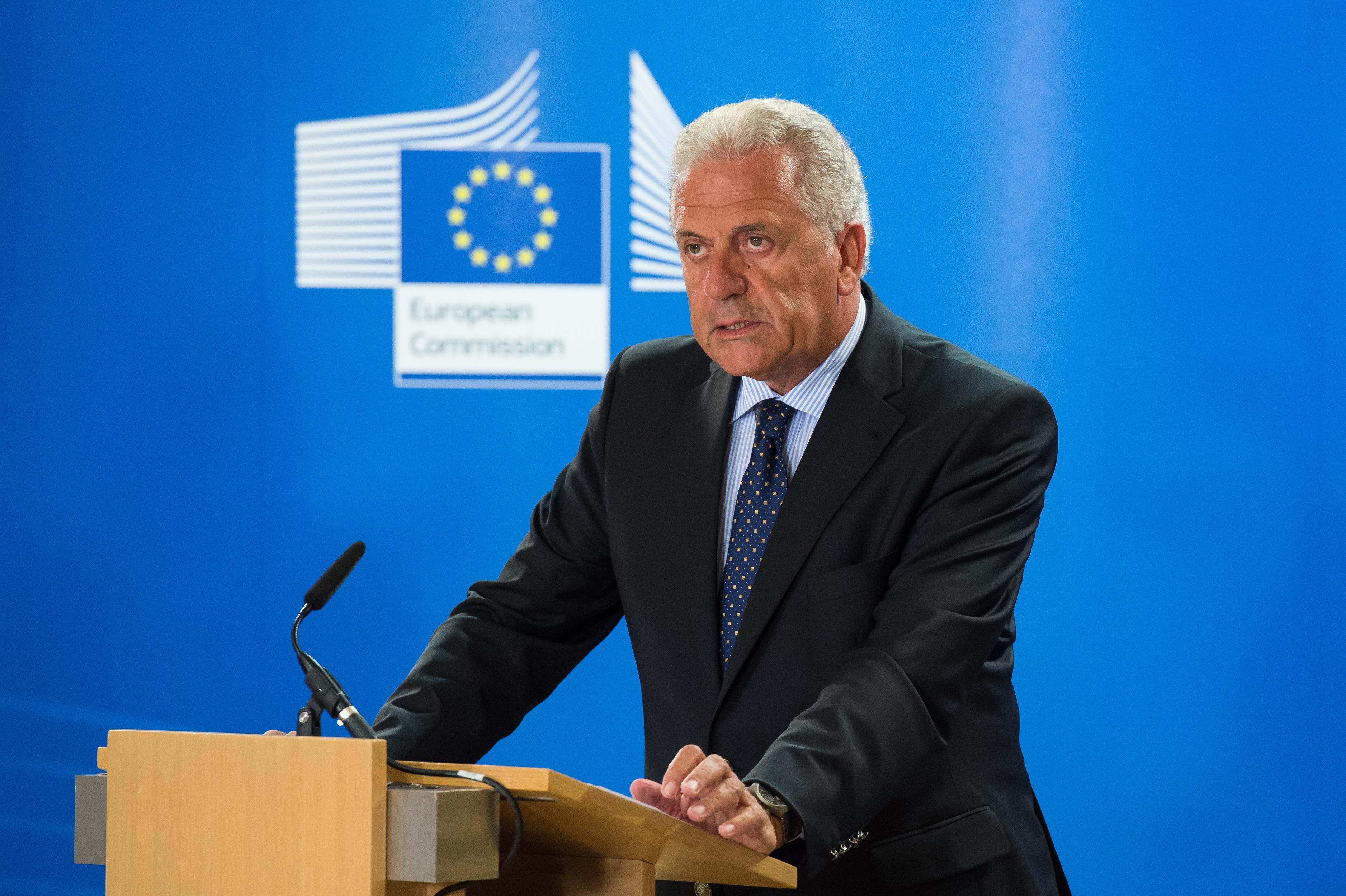 EU Migration Commissioner Dimitris Avramopoulos
