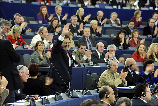 The European Parliament approved MEP Marietje Schaake's report on surveillance technology