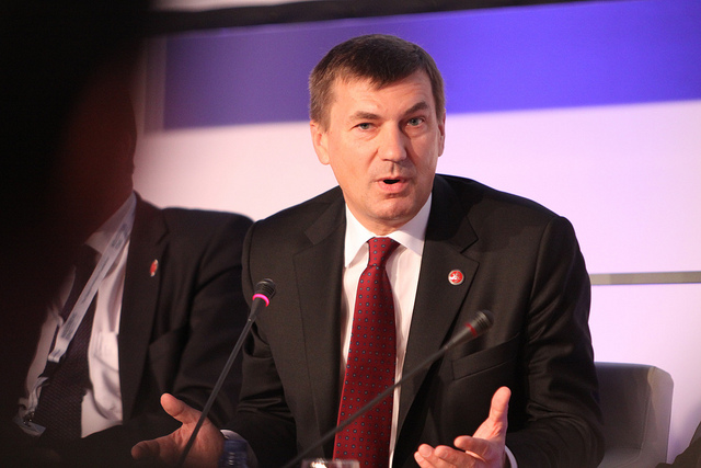 European Commission Vice President Andrus Ansip