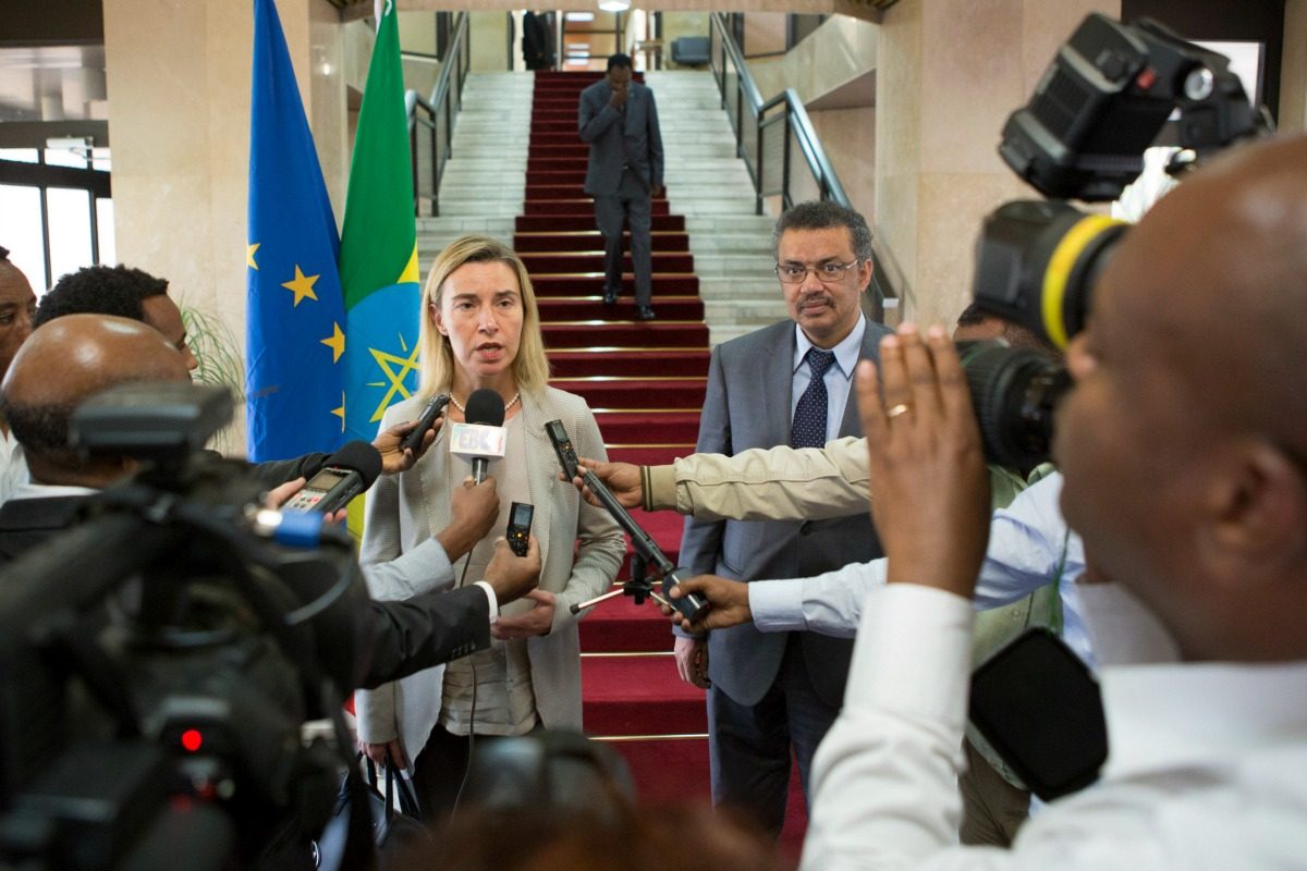 Federica Mogherini in Ethiopia
