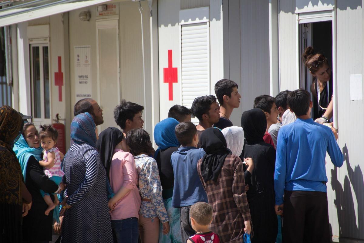 Elaionas Refugee Camp