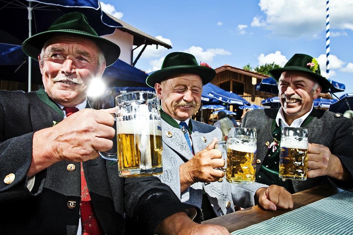 A beer garden in Bavaria [Shutterstock]
