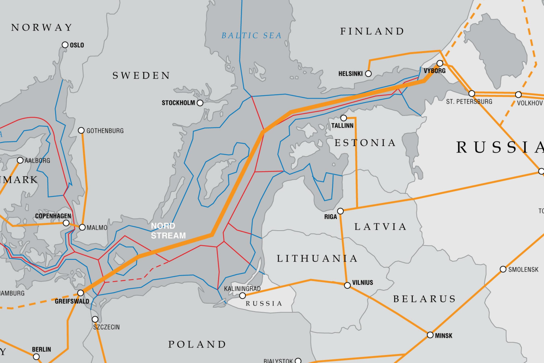 Pipeline Politics EURACTIVcom - Estonia from the us map