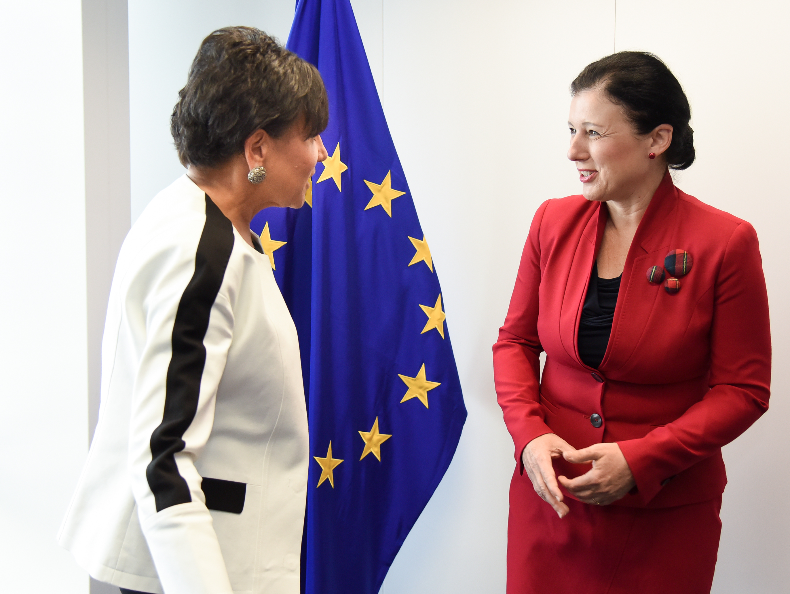 US Secretary of Commerce Penny Pritzker met with EU Justice Commissioner Vera Jourová this summer amid negotiations over a new EU-US datasharing agreement