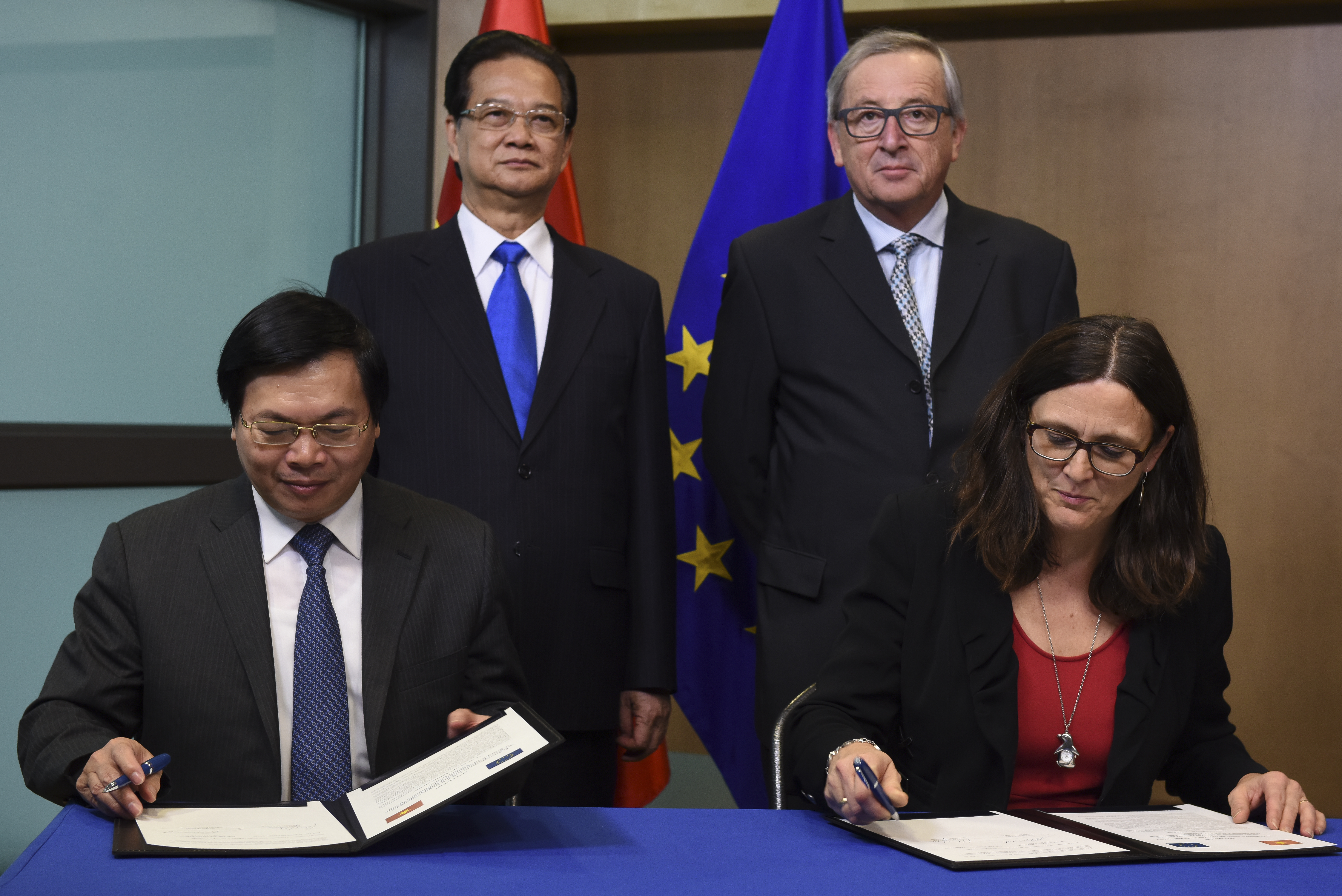 Eu canada change isds clause get closer to gold plated trade deal malmstrm ttip could follow vietnam model the eu trade commissioner platinumwayz