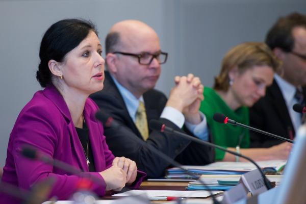 EU Justice Commissioner Vera Jourova