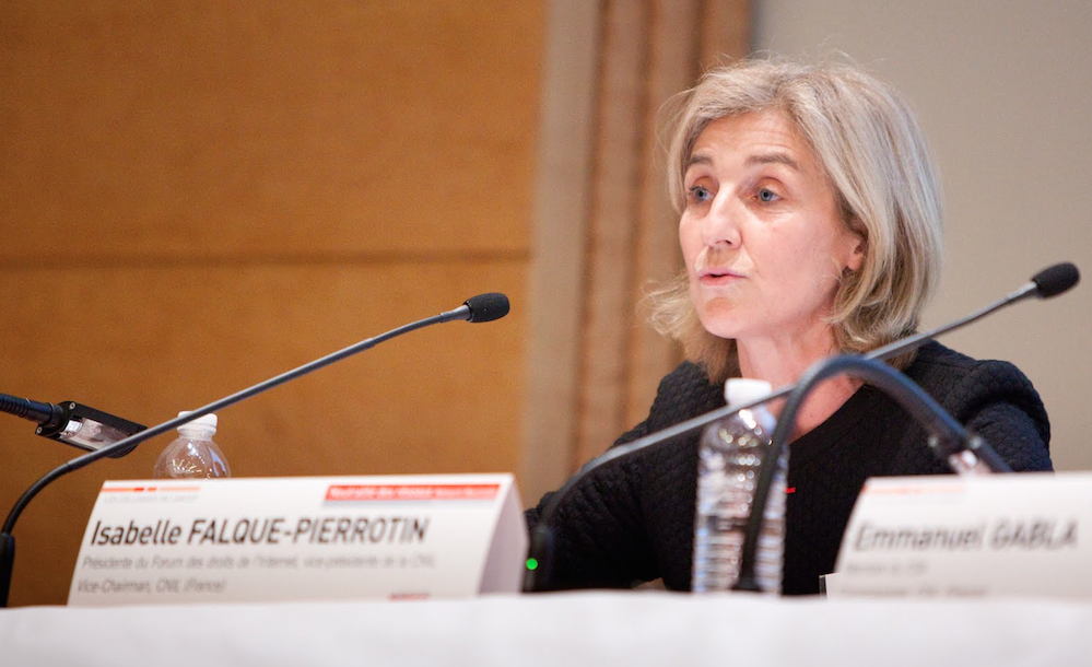 Isabelle Falque-Pierrotin, president of the Article 29 Working Party