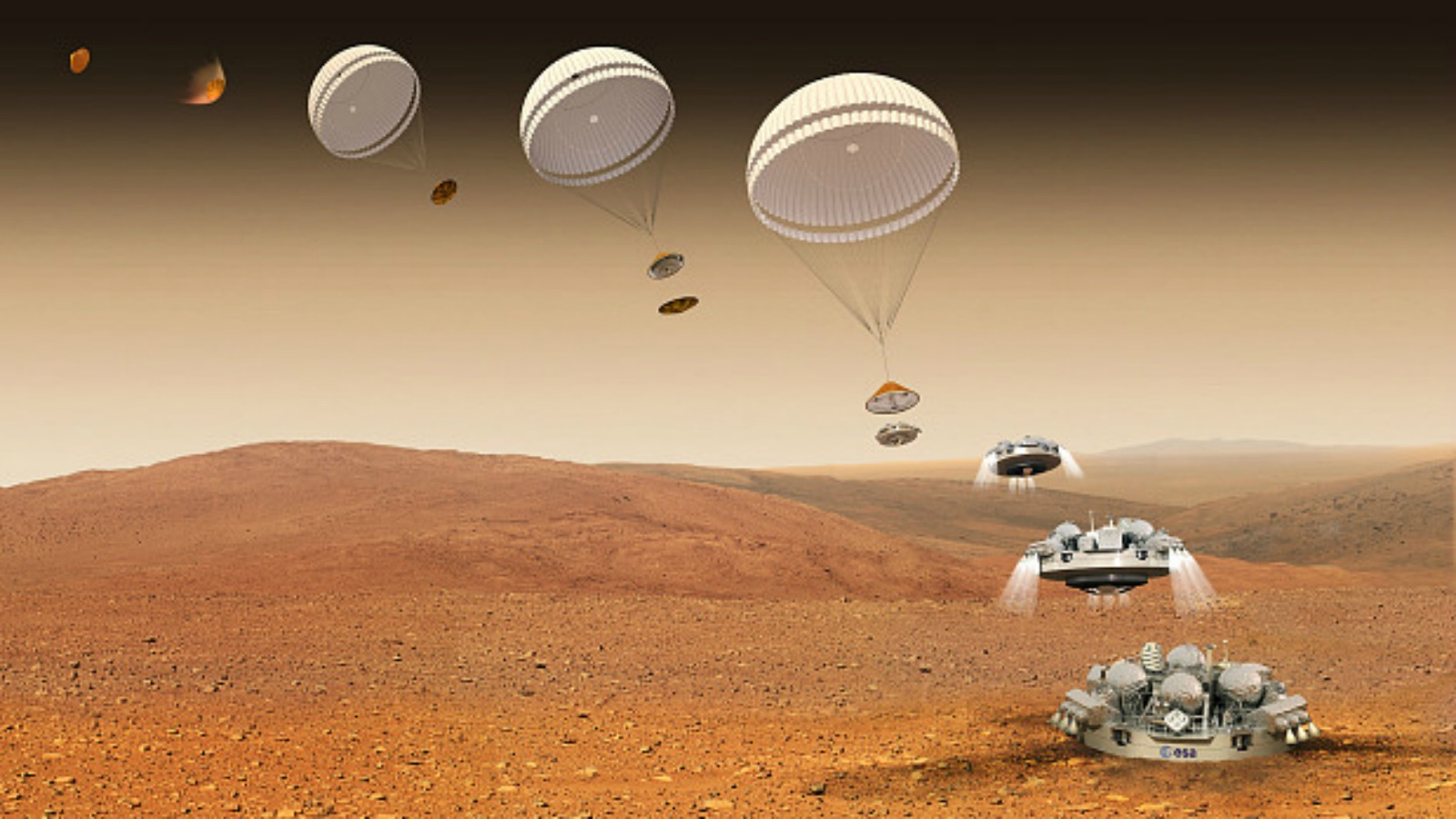 landing on the mars - photo #11