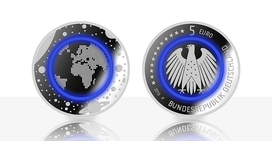 Bundesbank 5 euro münze 2019