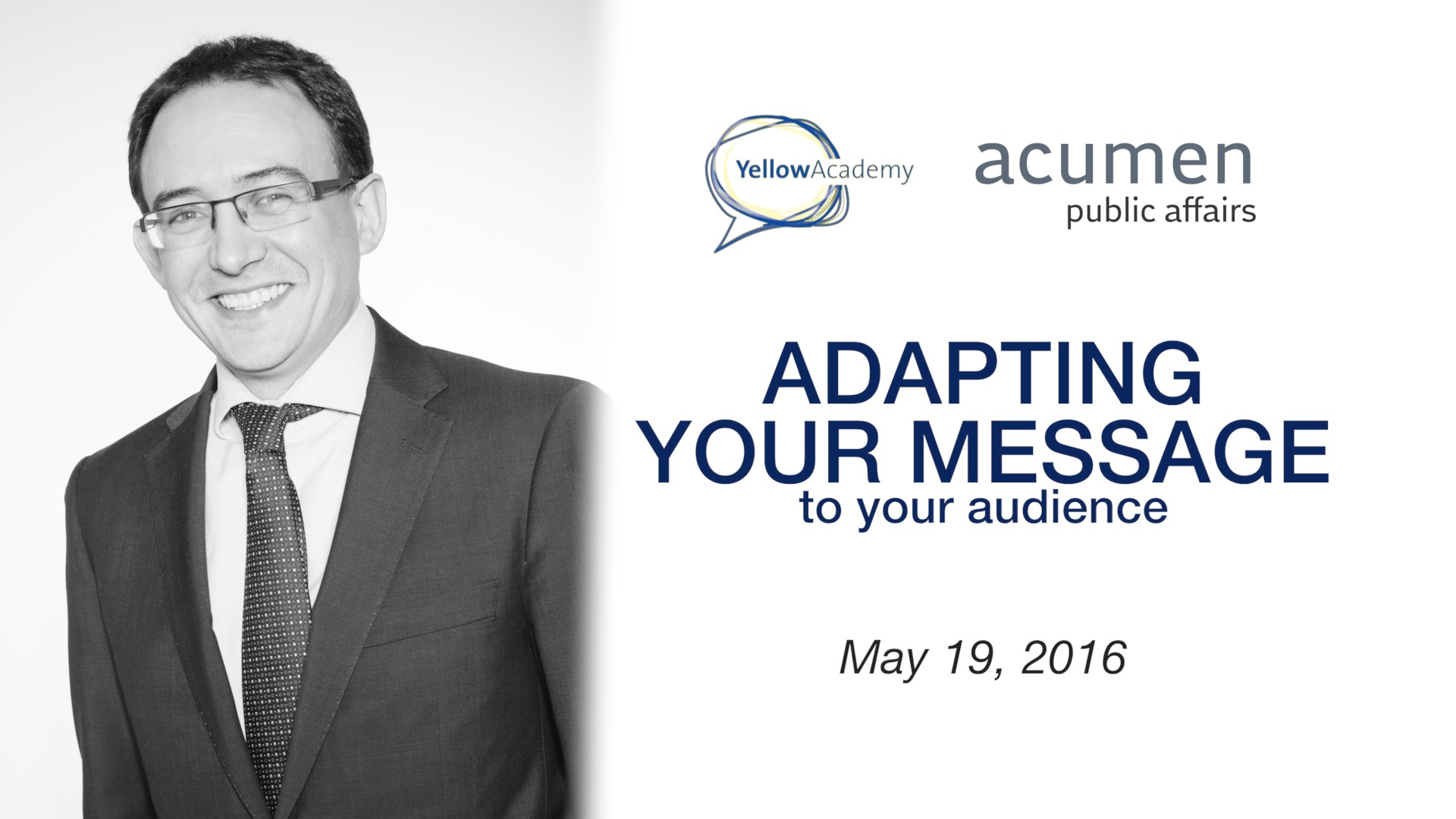 Giles Keane: Adapting your message to your audience