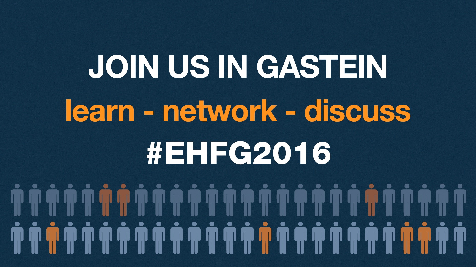 Join the 19th EHFG!