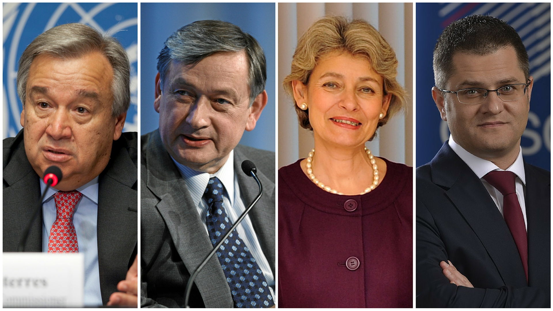 Four Europeans lead in race for UN Secretary-General