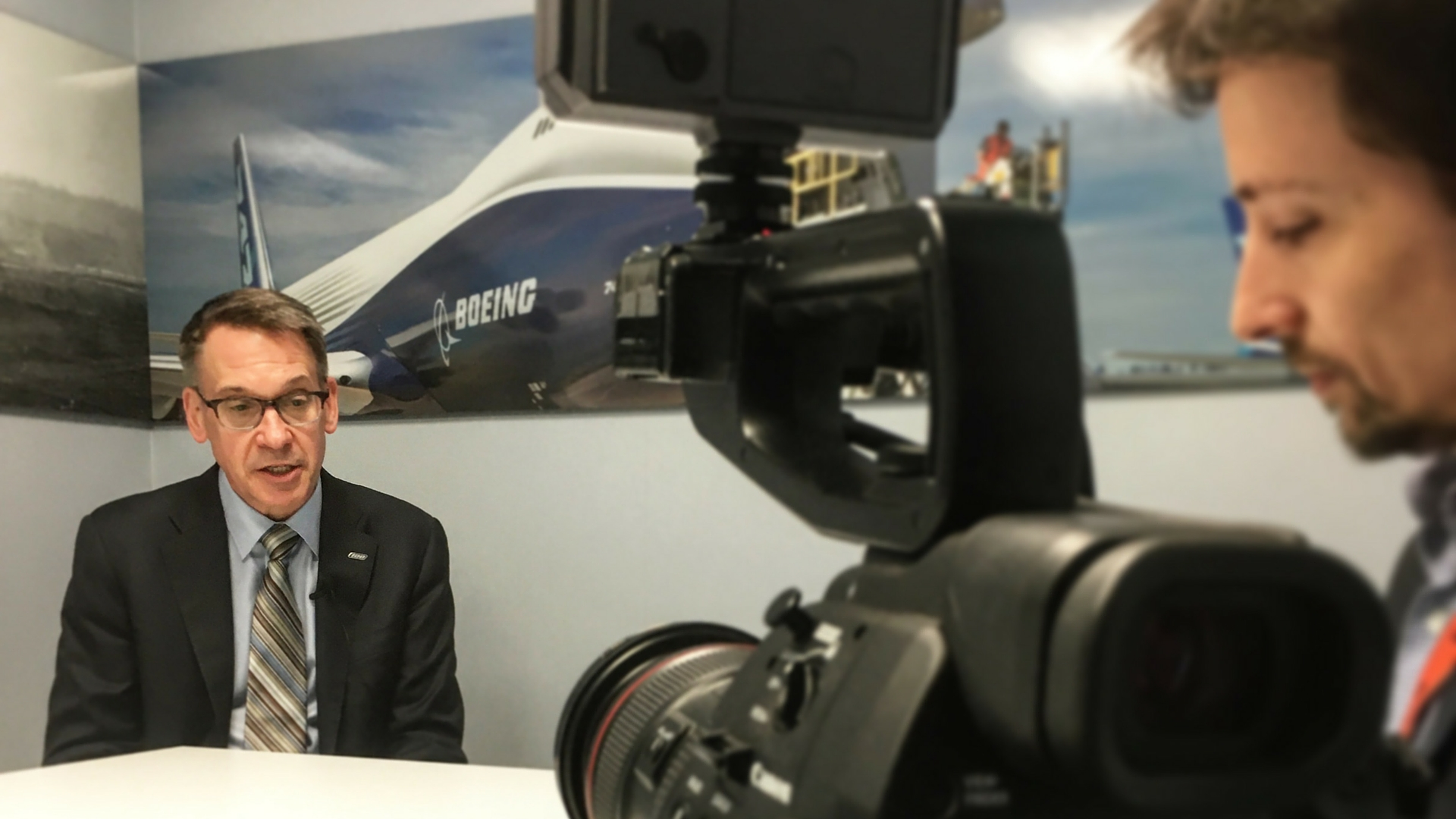 Randy Tinseth speaks to EURACTIV at the 2016 Farnborough airshow