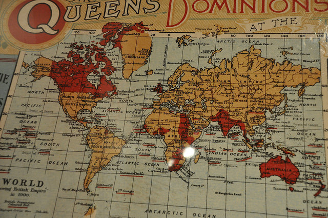 British Empire Map 1900.Forget Commonwealth Target Us China Economist Warns Brexit