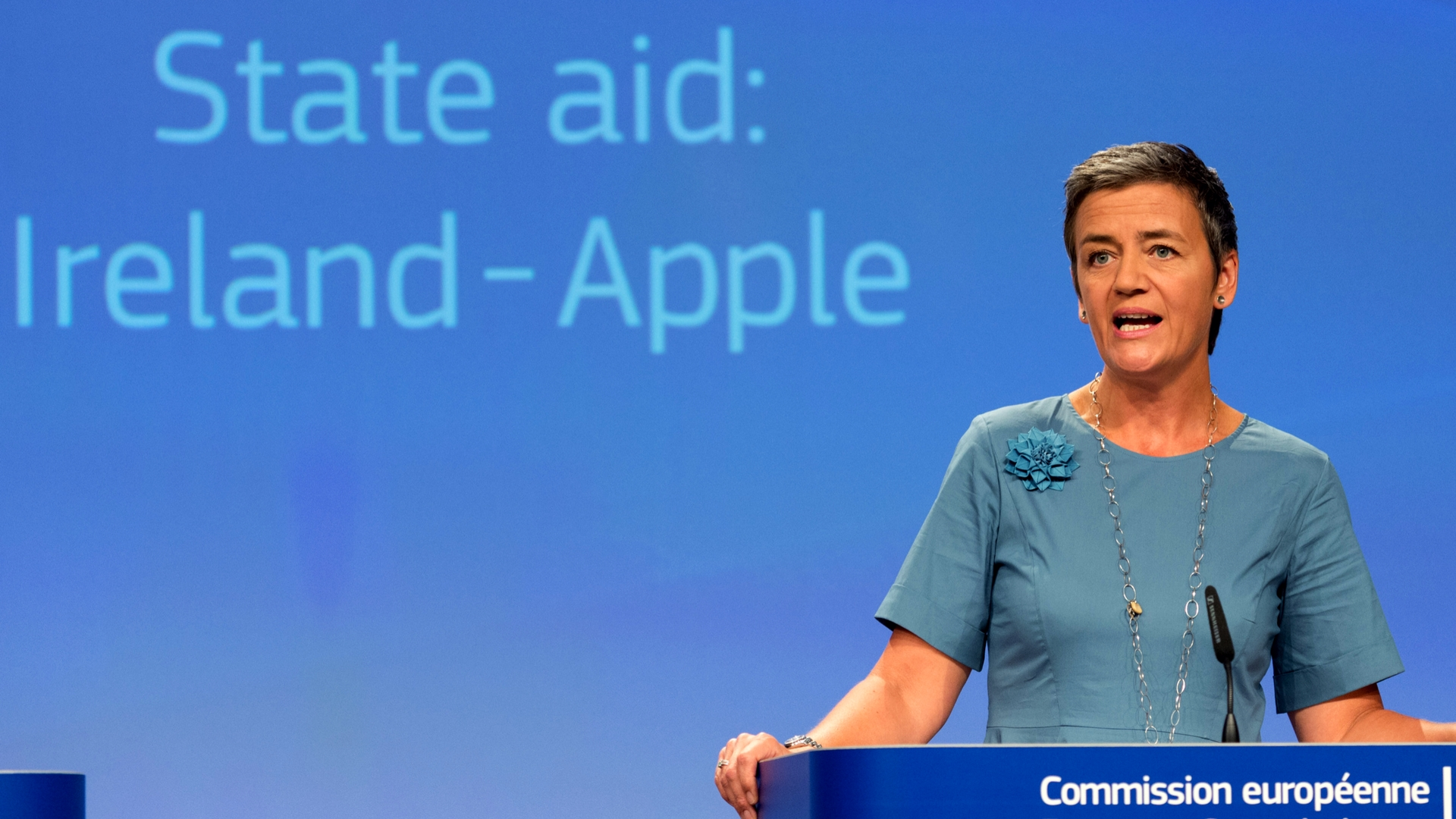 Competition Commissioner Magrethe Vestager.