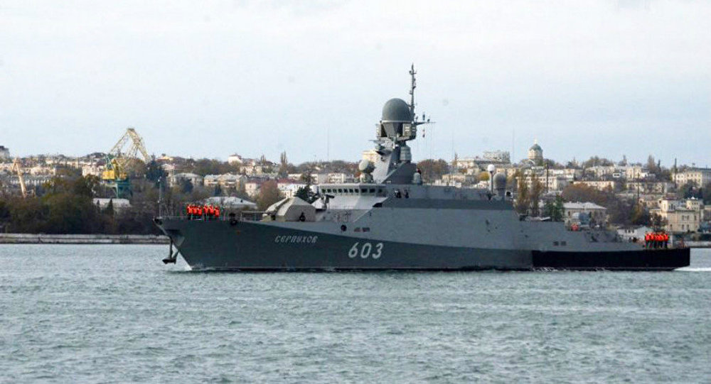 Russia Beefs Up Baltic Fleet With Cruise Missile Armed