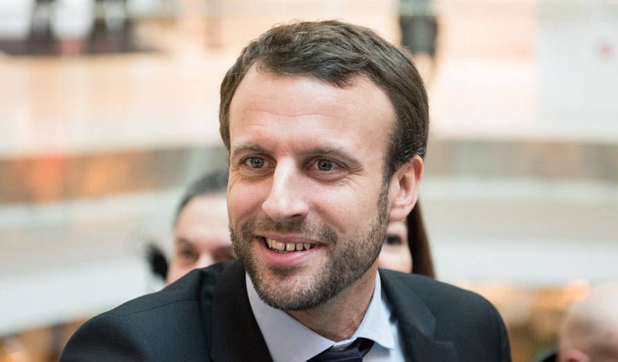 Emmanuel Macron Officially Enters The French Presidential Race Euractiv Com