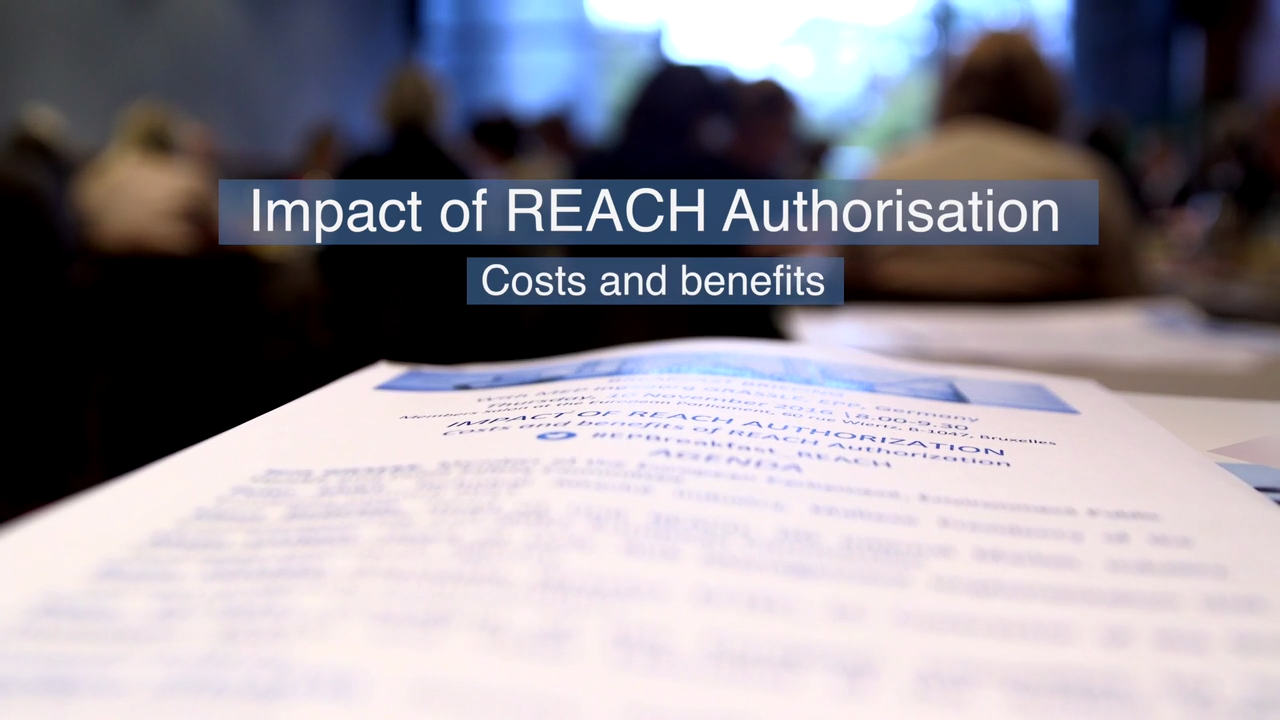 The impact of REACH authorisation: costs and benefits