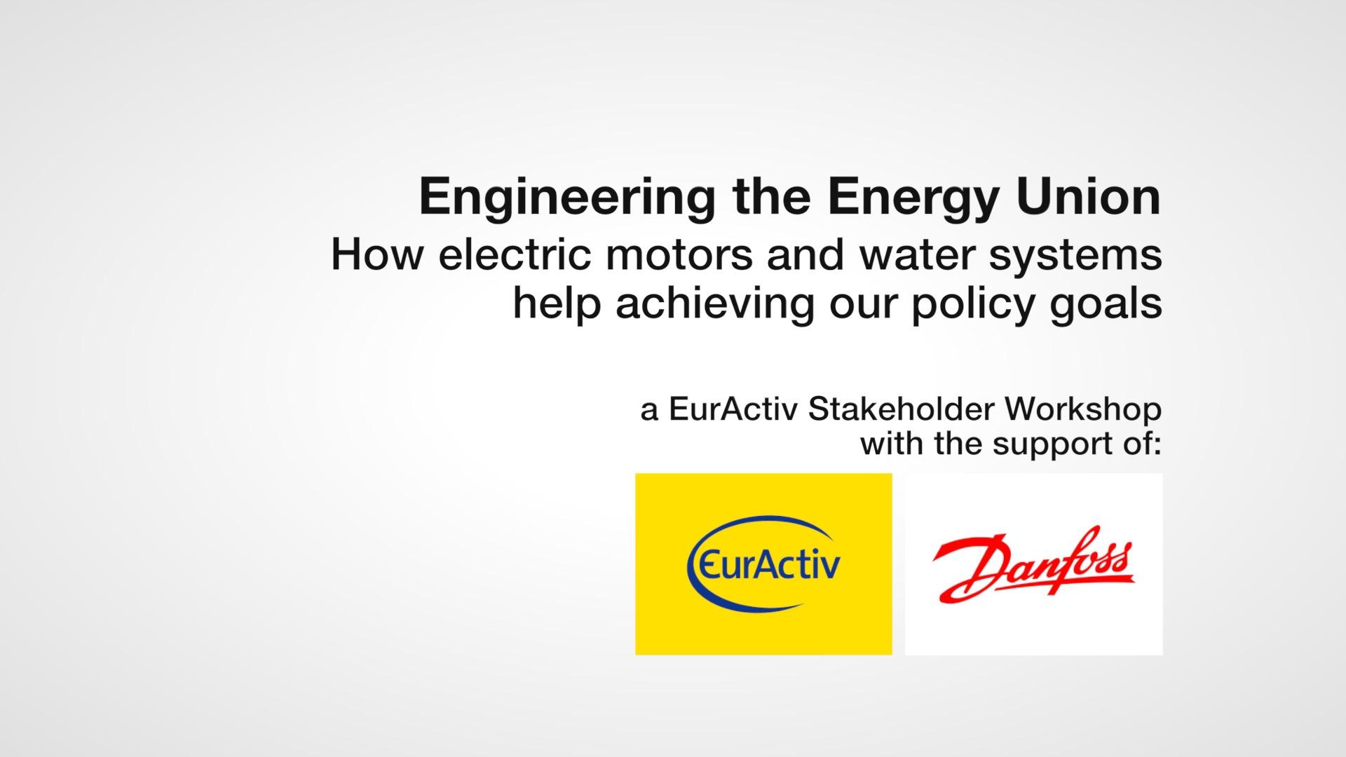 Engineering the Energy Union