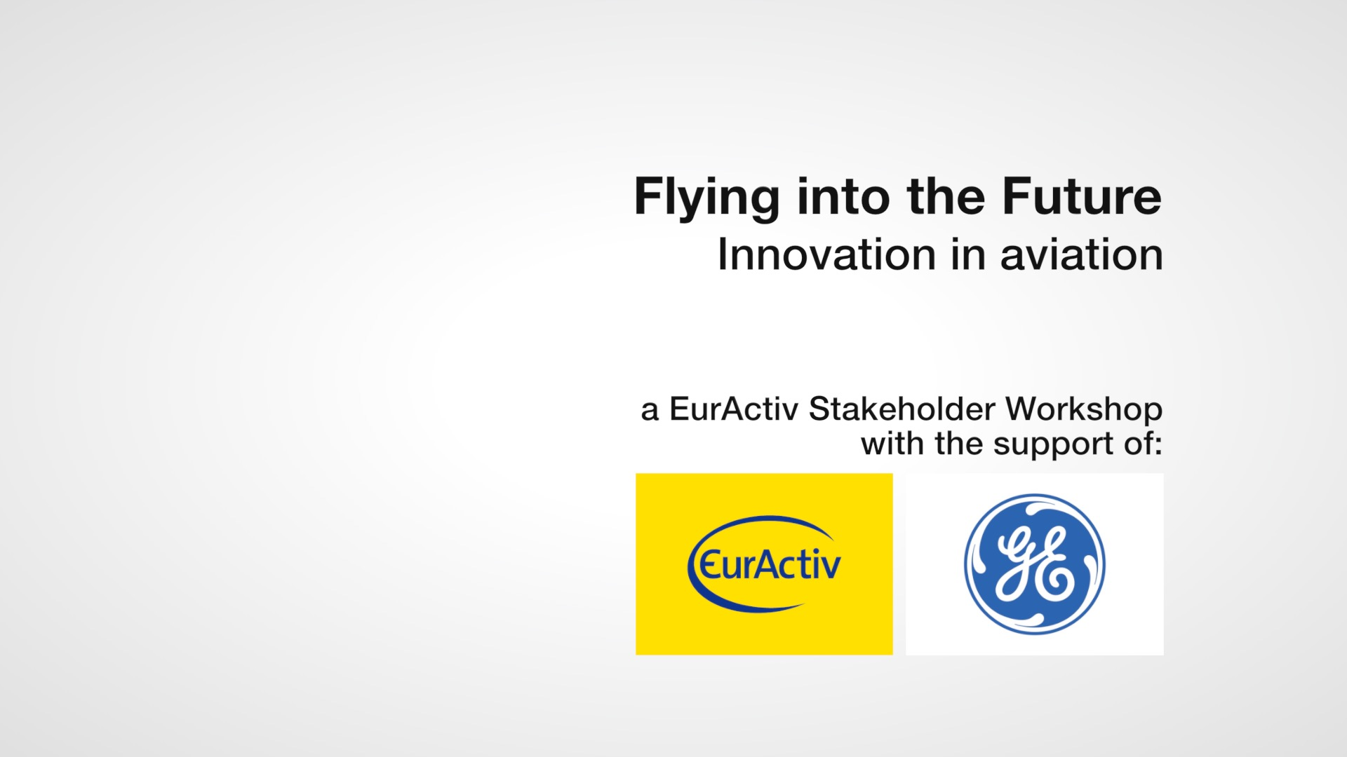 Flying into the future: innovation in avaiation