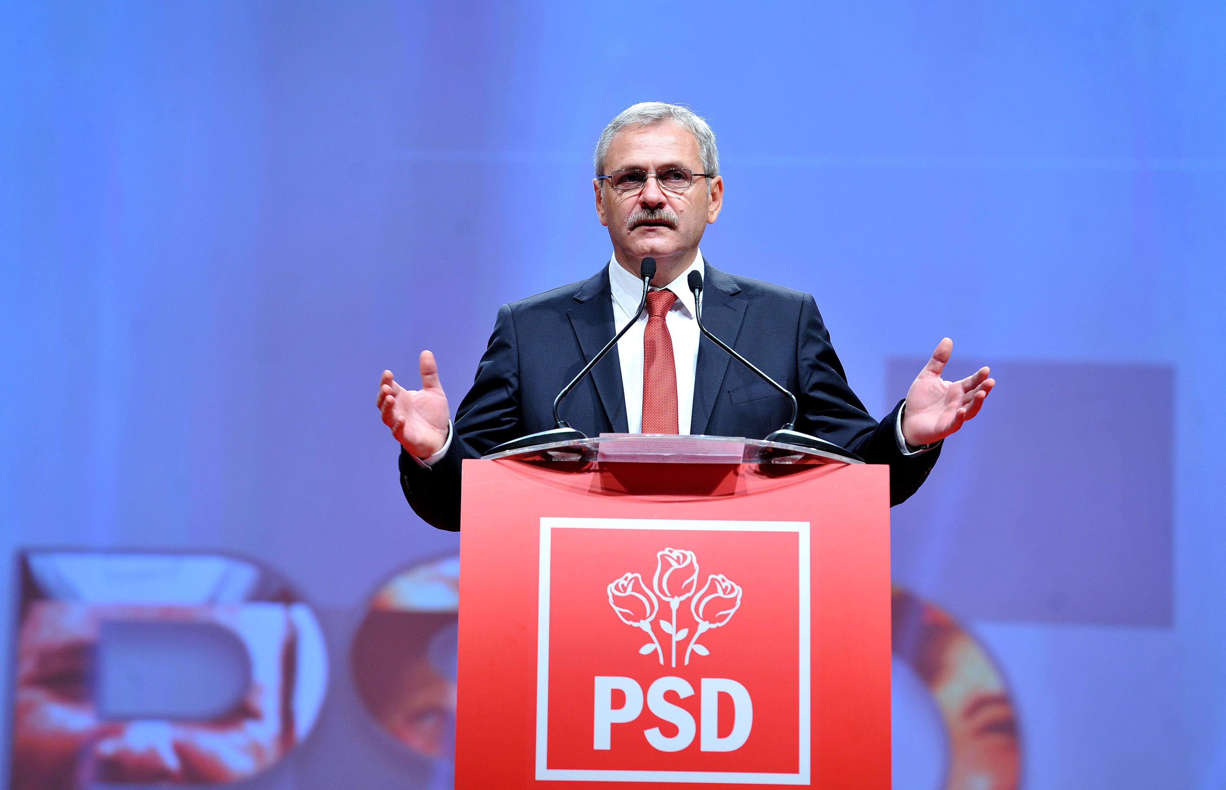 Liviu Dragnea, leader du PSD