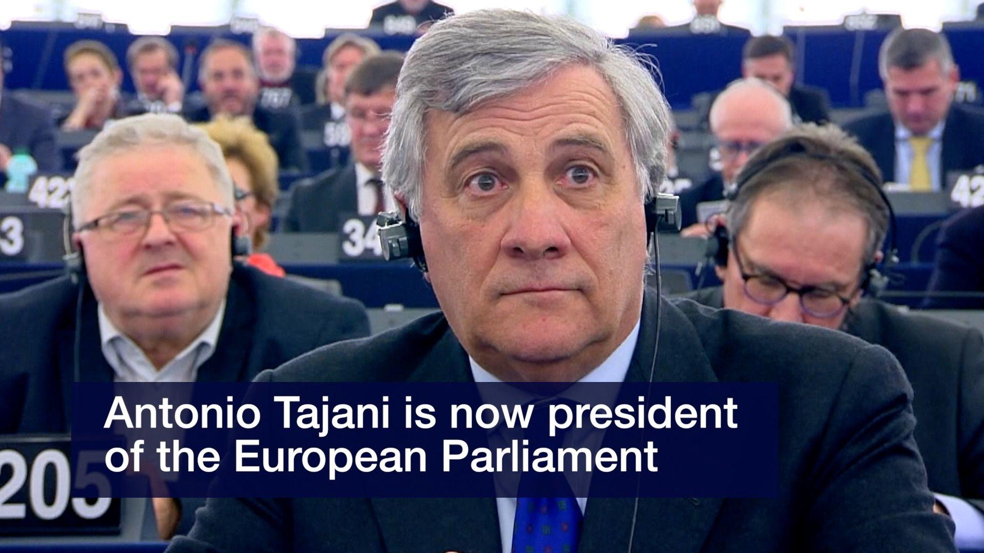 Tajani wins