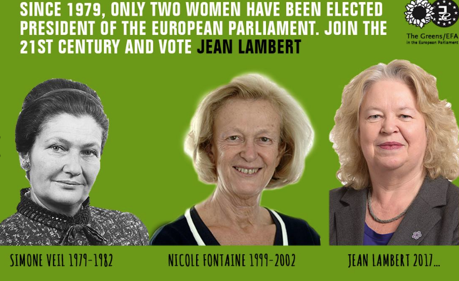 An campaign ad from Jean Lambert.