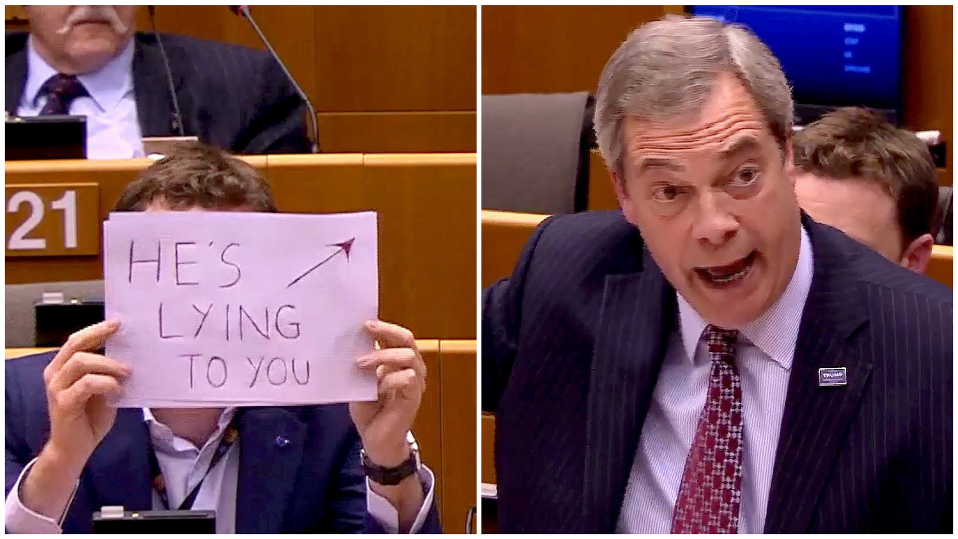 Is Nigel Farage lying to you?