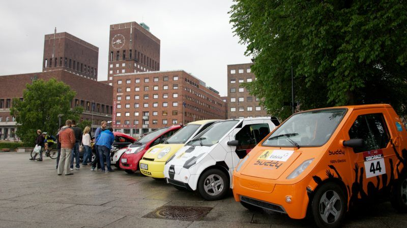 EU unveils proposal to clean up transport, boost electric vehicles ...