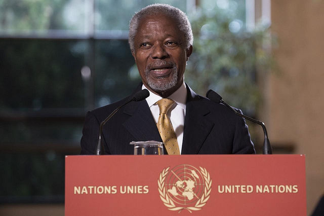 Kofi Annan What Is The Point Of Economic Growth If You