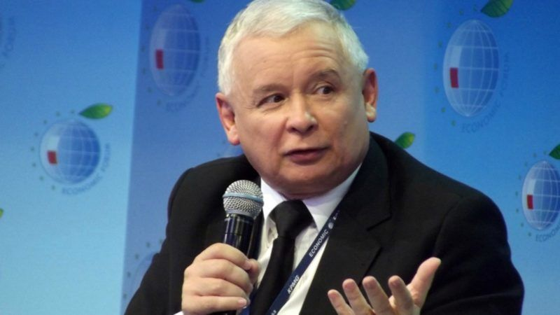 Poland's Kaczynski says sticking to judicial reform plans