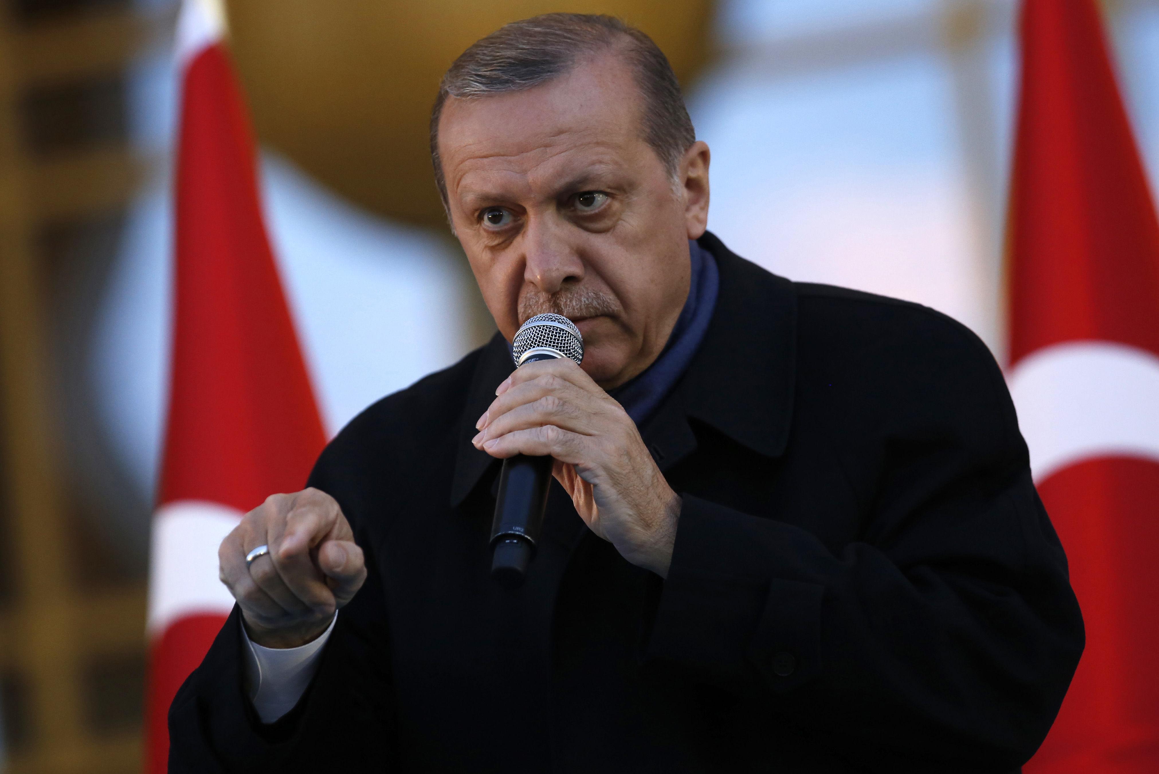 Erdogan Says Turkey Could Hold Referendum On Eu Membership