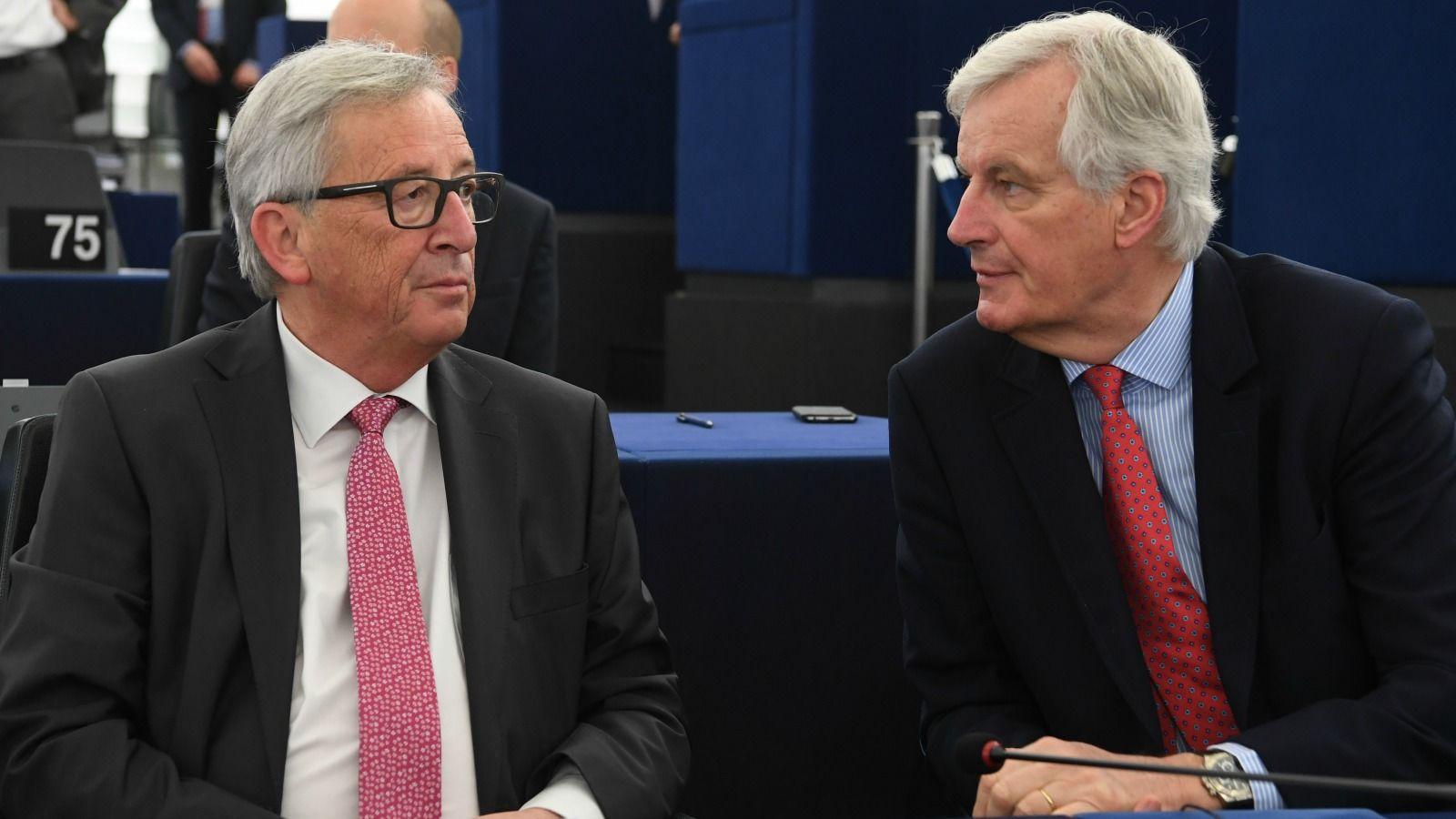 Juncker Barnier To Meet Theresa May Ahead Of Brexit