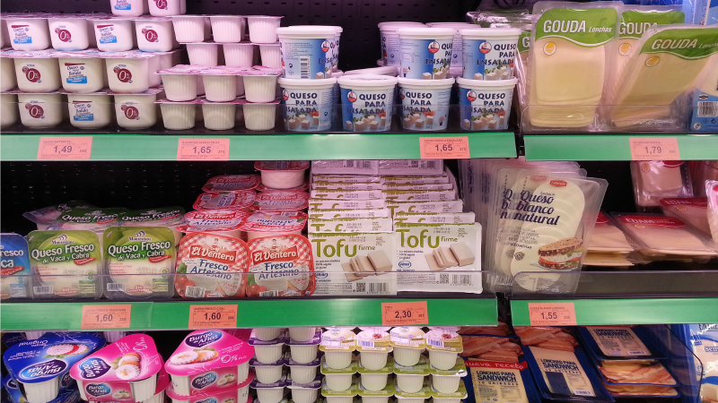 Hard cheese for soya and tofu as EU court bans dairy names