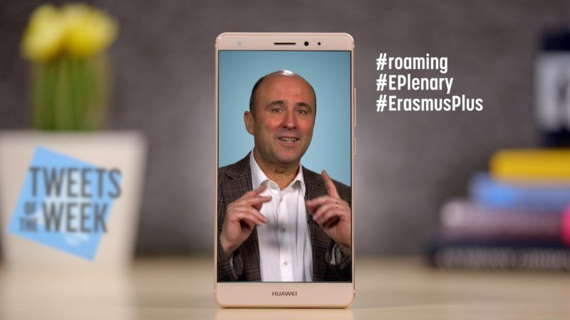 Roaming, EP Plenary, and Erasmus (Tweets of the Week, Ep. 7)
