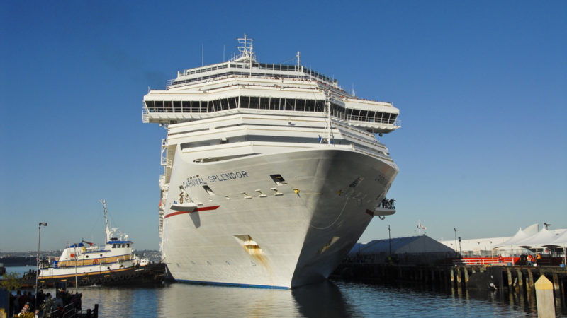 Worlds Largest Cruise Ship 2020.World S Largest Cruise Operator Closes In On 2020 Emissions