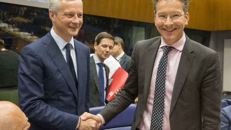 Image result for photos of French Finance Minister Bruno Le Maire