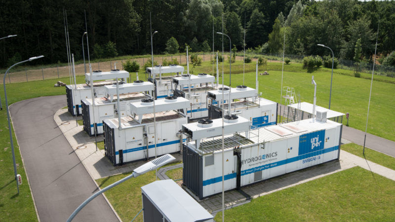 Making the energy transition possible through green hydrogen and