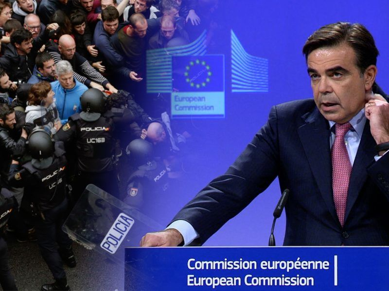 Commission Statement on events in Catalonia