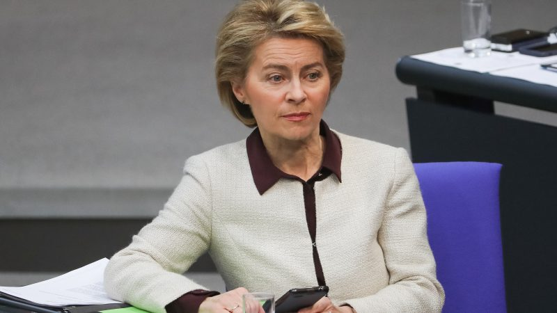 Lawmakers name their price for backing Von der Leyen for top job