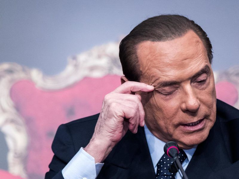 Wild card: Illegal migrants will be deported if Italy's Berlusconi is re-elected