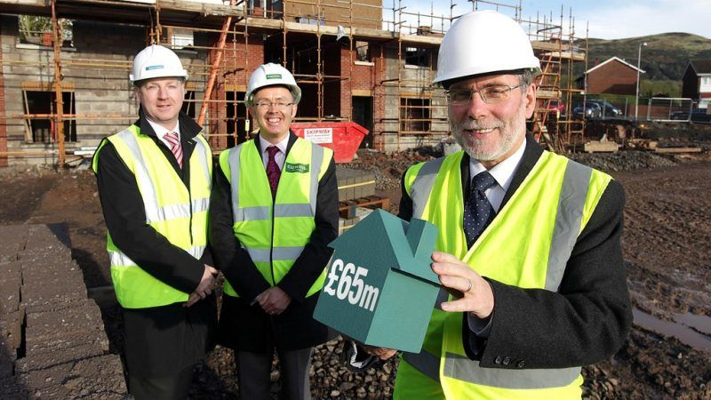 Christ Martin Northern Bank Jonathan Boggs Clanmil Housing Nelson McCausland Dept for Social Development
