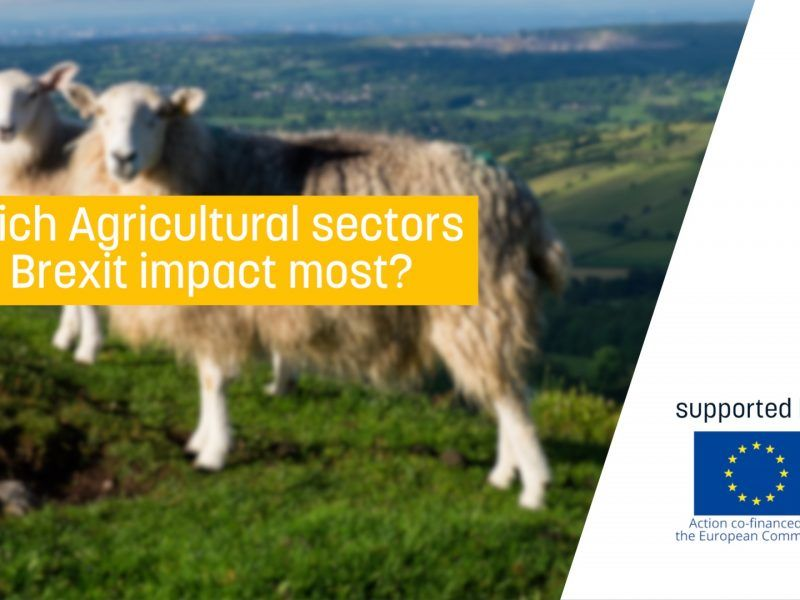 Which Agricultural sectors will Brexit impact most