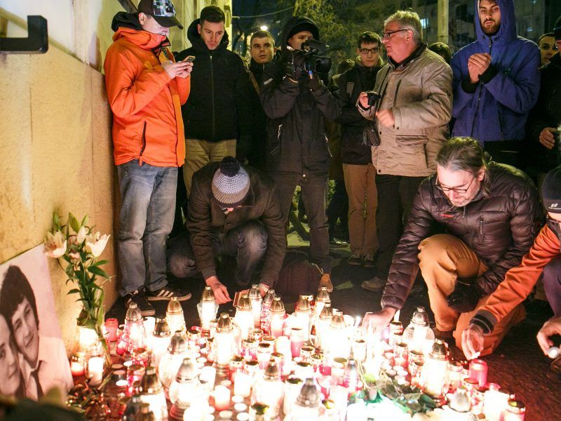 Slovakian interior minister resigns after street protests over murdered journalist Jan Kuciak