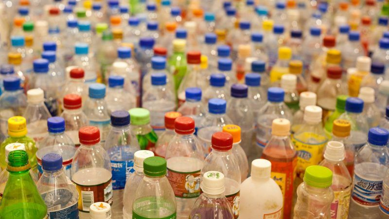 Packaging recyclability virgin plastics