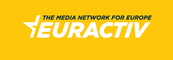 EURACTIV Logo with EN motto