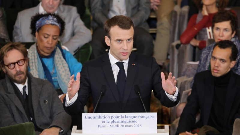 Macron Says Too Much English Spoken In Pre Brexit Brussels Euractiv Com